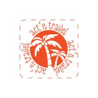 Act'N'Travel лого для мобильного приложения