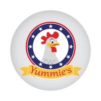 Логотип для сети быстрого питания Yummie's