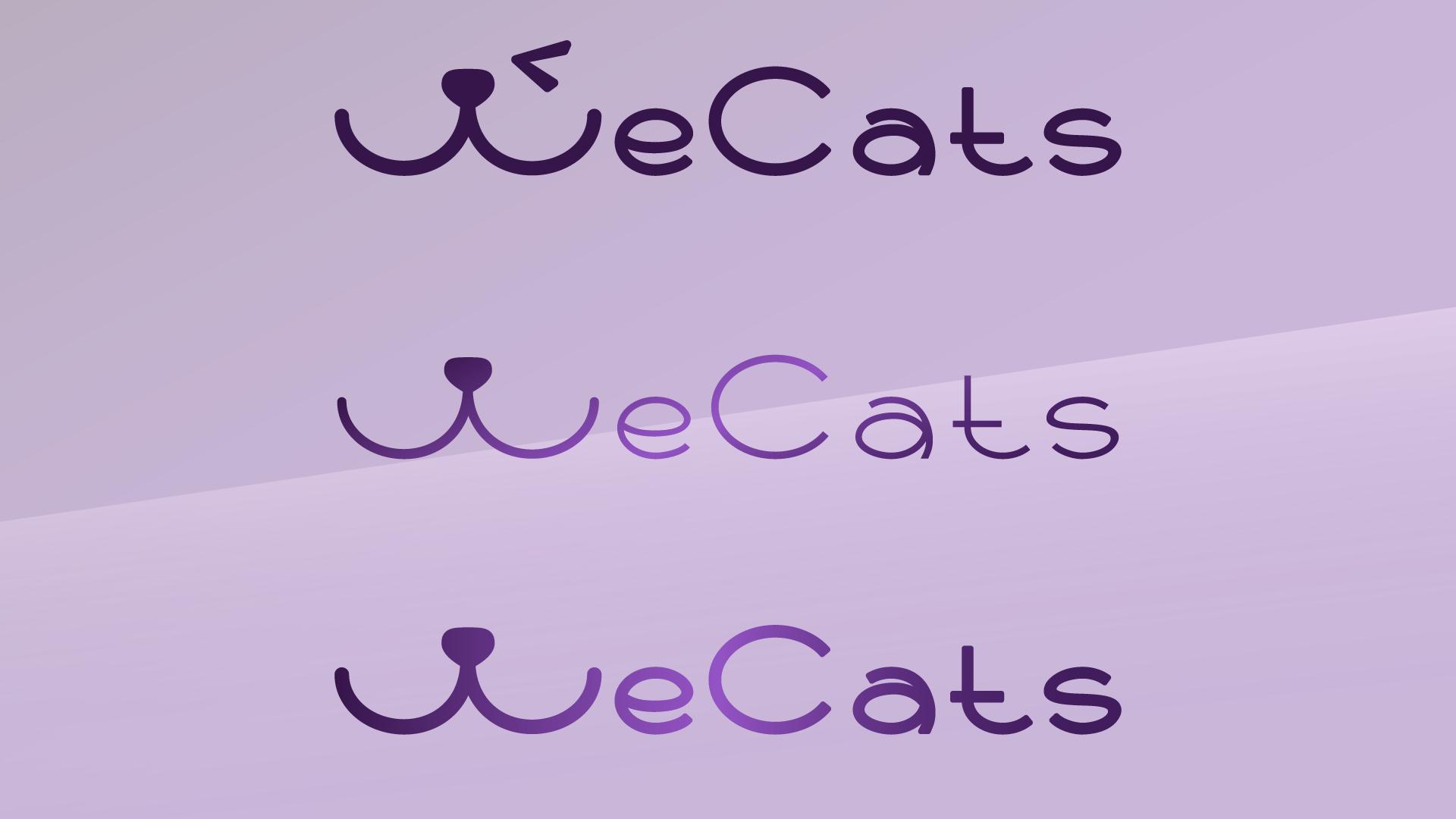 Создание логотипа WeCats фото f_1525f192b2cc36aa.png