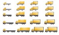 Иконки грузовиков