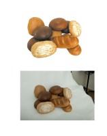 Обтравка и цветокоррекция хлеба
