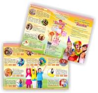 Буклет для студии детского праздника