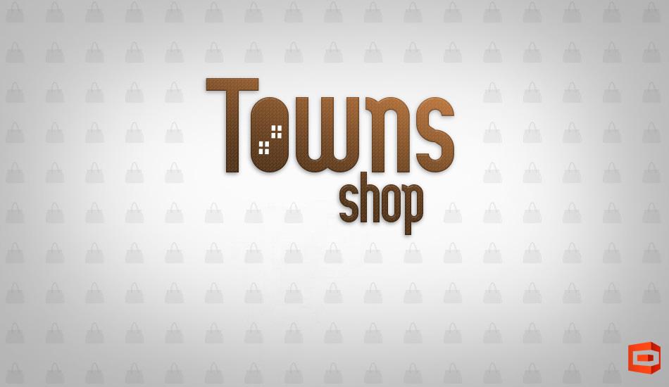 Логотип Town Shop