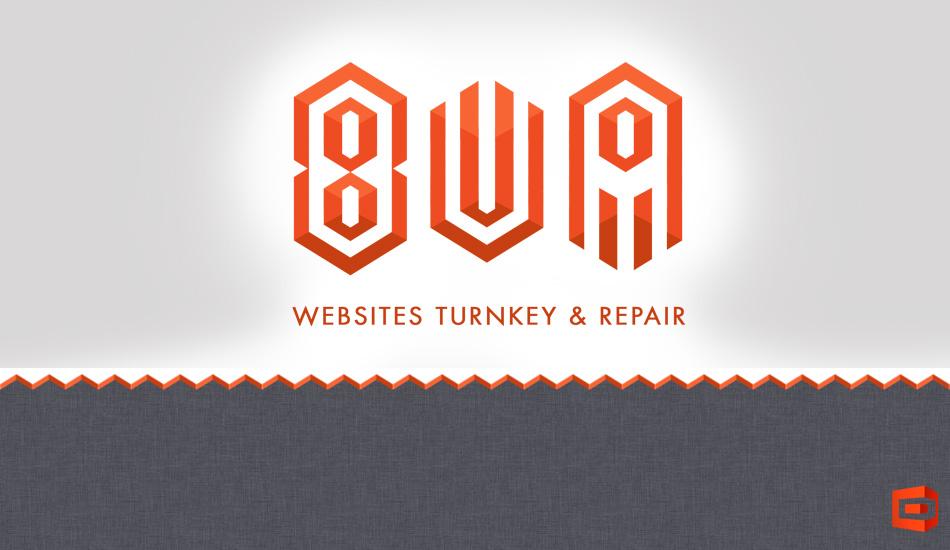 Логотип для студии 8UA