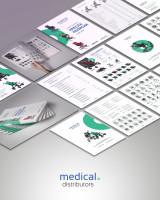 Дизайн концепция каталога продукции для Medical Distributors