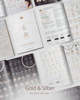 Дизайн, верстка и обработка изделий. Каталог ювелирной продукции, Берлин