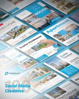 Дизайн баннеров для социальных сетей агентства недвижимости