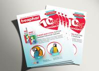 """Рекламный макет для компании """"Beaphar"""""""