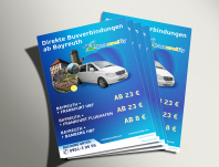 Информационная листовка для транспортной компании