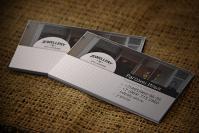 визитка для ювелирного магазина