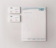 """Элементы фирменного стиля для компании """"IMD"""""""