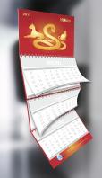 Квартальный календарь для ТМ Молина