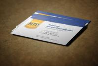 """Визитная карточка для строительной компании """"НТР"""""""