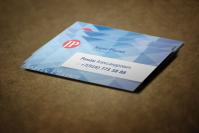 Визитная карточка для магазина одежды