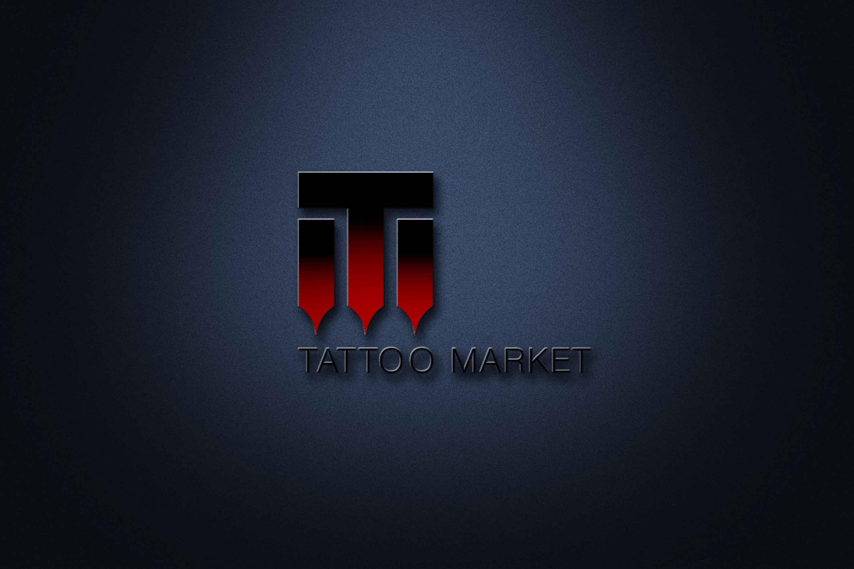 Редизайн логотипа магазина тату оборудования TattooMarket.ru фото f_8295c4c9dcf8e8f3.jpg
