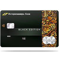 Лендинг Master Card Black Edition