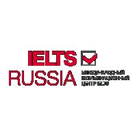 Логотип и фирменный стиль IELTS Russia