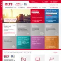 Дизайн сайта IELTS Russia