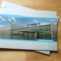Буклеты компании Vipport для выставки в Швейцарии