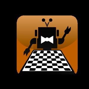 """Иконка мобильного приложения """"шашки-онлайн"""" (2 вариант)"""