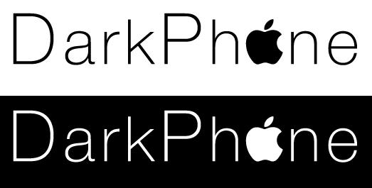 Лого магазина мобильных телефонов Apple