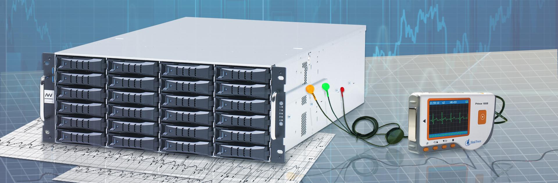 Иллюстрация для сайта, предлагающего услуги диагностики серверов