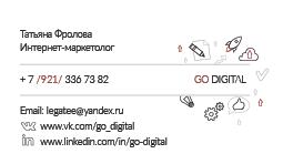 Визитка интернет-маркетолога