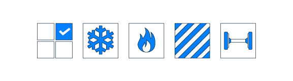 Иконки для сайта перевозок