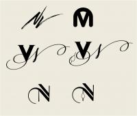 Буквенный лого