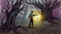 Заколдованный темный лес