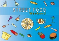 Плакат Street Food