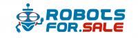 Лого магазна по продаже игрушечных роботов