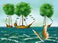 Корабли-деревья