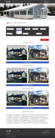 """Сайт строительства домов и коттеджей, страница """"проекты"""""""