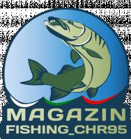 Лого интернет магазина снаряжения для рыбалки (щука)