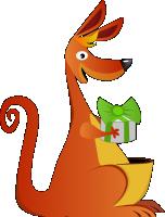 Персонаж для игры, Кенгуренок-непоседа
