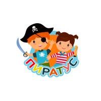 """лого """"Пиратус"""" для детского центра"""