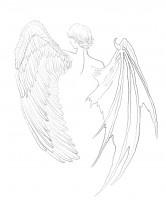 """Скетч """"Крылья"""""""