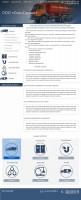 Сайт компании, предлагающей услуги ассенизации