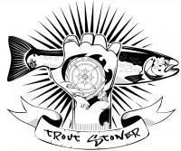 Лого для ю-туб канала рыболовной тематики