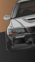Автомобиль (отрисвка в векторе)