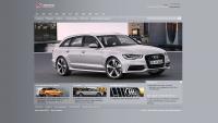 Рекламодатель компания Audi