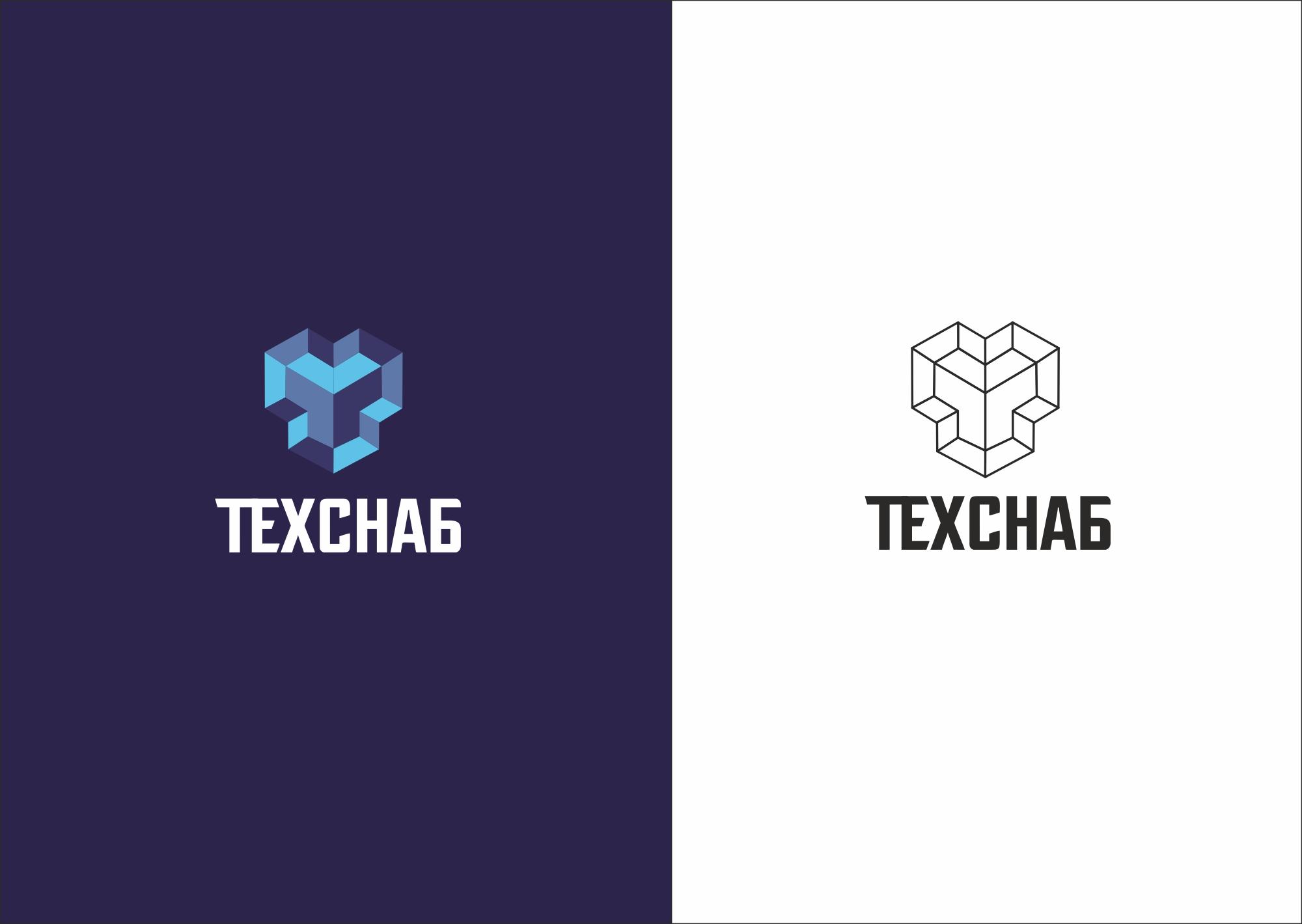 Разработка логотипа и фирм. стиля компании  ТЕХСНАБ фото f_7605b21b724435c6.jpg