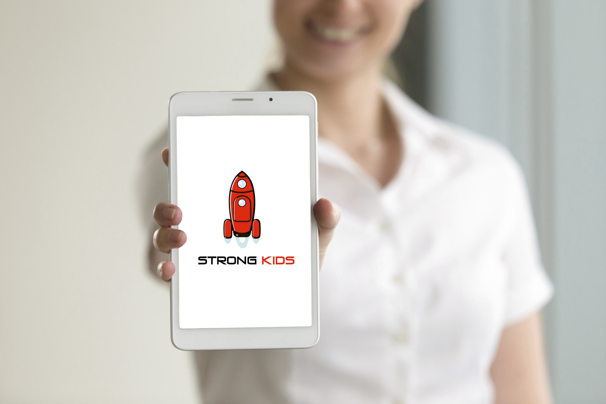 Логотип для Детского Интернет Магазина StrongKids фото f_5505c76805b57d0d.jpg