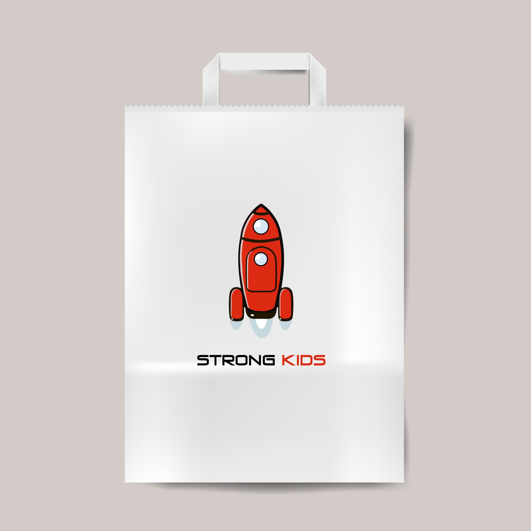 Логотип для Детского Интернет Магазина StrongKids фото f_6485c768049416c8.jpg