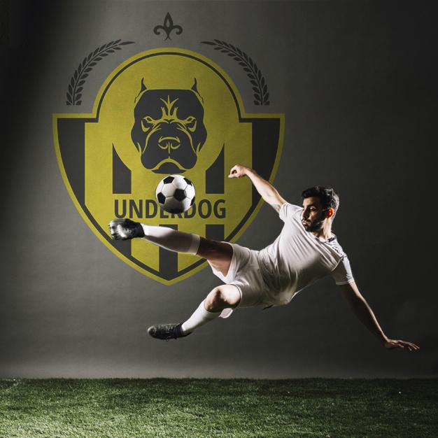 Футбольный клуб UNDERDOG - разработать фирстиль и бренд-бук фото f_8845caf327cbbaaf.jpg