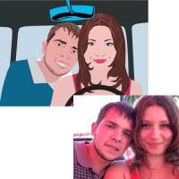 Отрисовка картинки по фотографии в векторе
