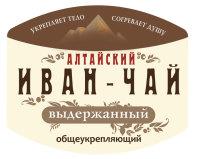 Разработка этикетки Алтайский Иван-чай