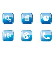 Разработка серии иконок для ИТ-аутсорсинговой компании