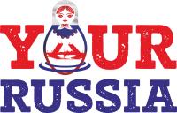 Логотип Your Russia тур агентство С. Пб + оформление FB